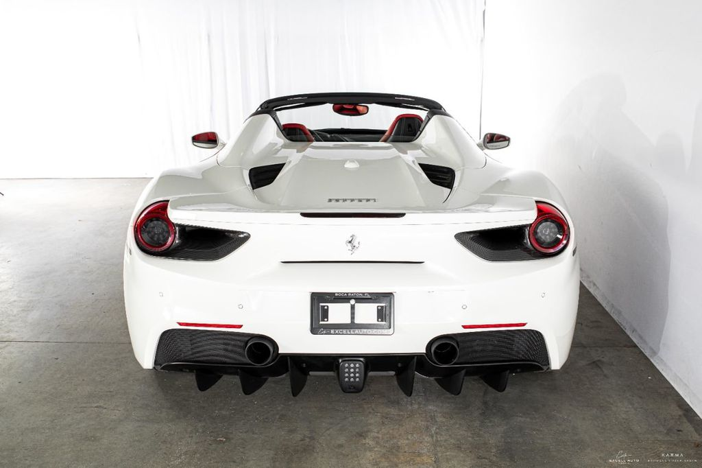 2017 Used Ferrari 488 Spider Convertible At Excell Auto Group Serving Boca Raton Fl Iid 20310262