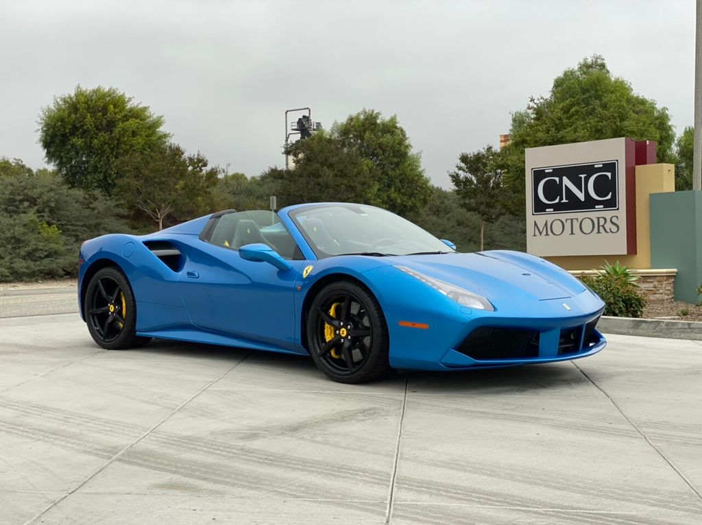 2017 Ferrari 488 Spider >> 2017 Used Ferrari 488 Spider Convertible At Cnc Motors Inc Serving Upland Ca Iid 19396579