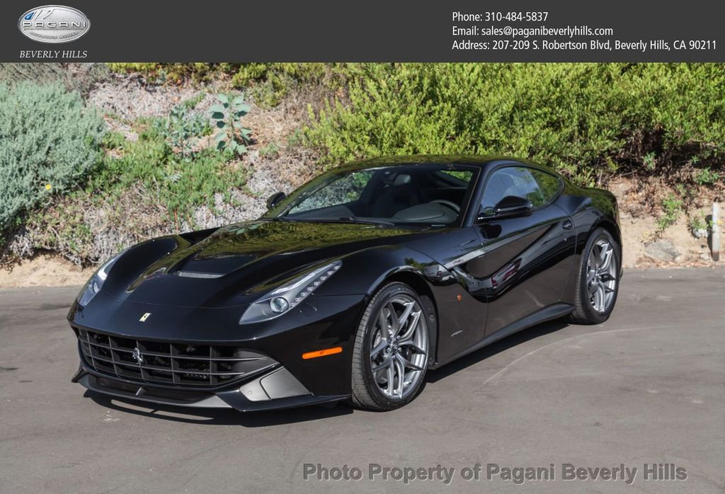 2017 ferrari f12berlinetta coupe coupe for sale in beverly. Black Bedroom Furniture Sets. Home Design Ideas