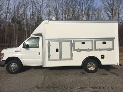 2017 Ford E350HD KUV WALK IN UTILITY SERVICE BODY 23k MILES REPLACEMENT VALUE WELL OVER $52,300!! - Click to see full-size photo viewer