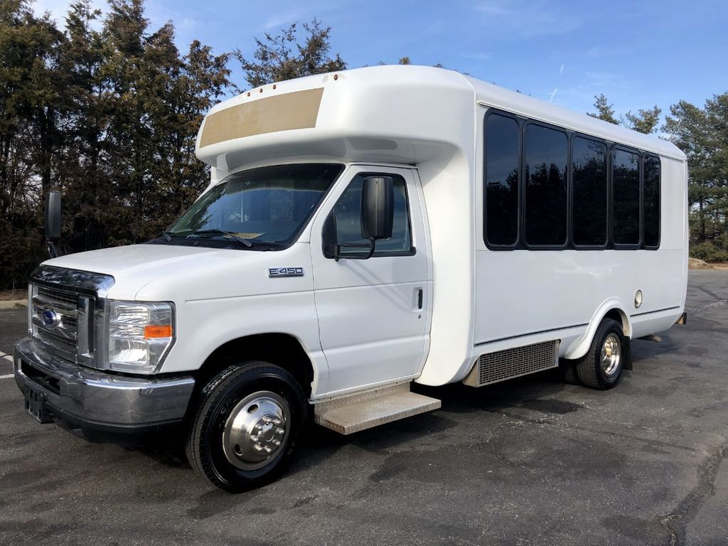 2017 Ford E450 Eldorado Shuttle Bus Non-CDL For Sale For Church Senior Tour Charter Student Hotel Transport - 18678055 - 0