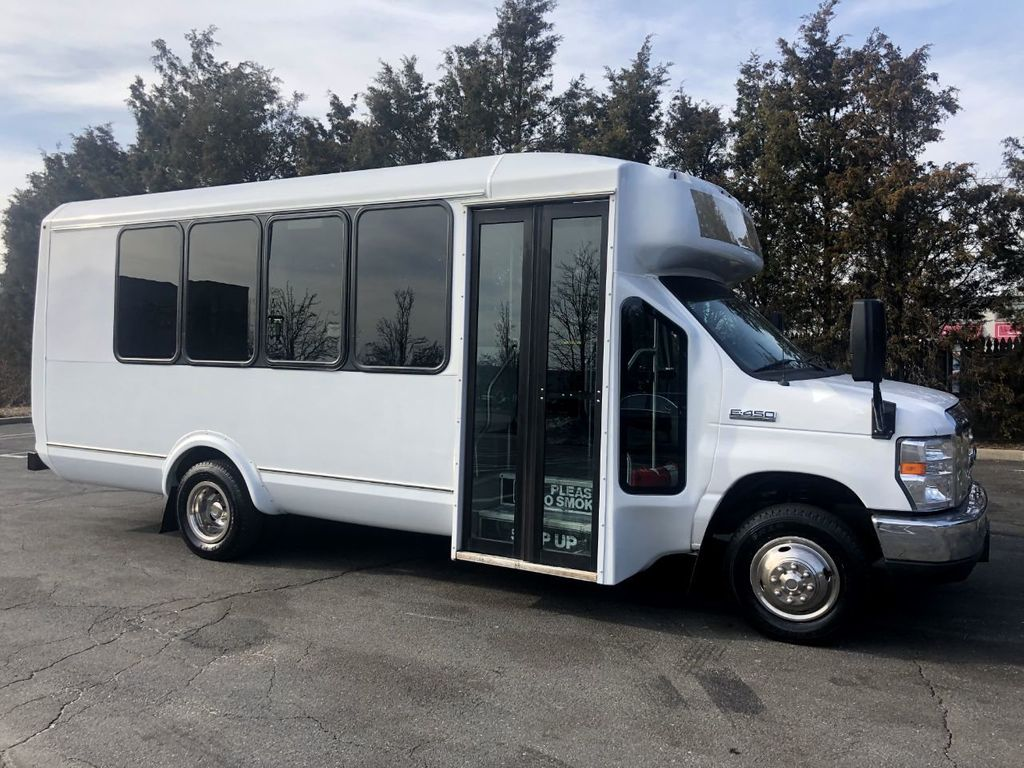 2017 Used Ford E450 Eldorado Shuttle Bus Non-CDL For Sale For Church Senior  Tour Charter Student Hotel Transport at Major Vehicle Exchange Serving