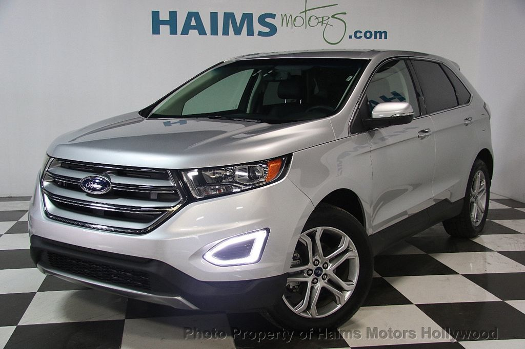 Ford Dealer Inventory Search >> 2017 Used Ford Edge Titanium FWD at Haims Motors Ft Lauderdale Serving Lauderdale Lakes, FL, IID ...