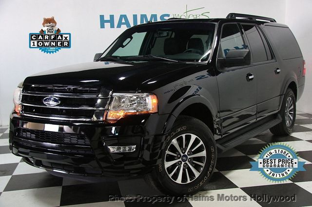 2017 Used Ford Expedition El Xlt 4x2 At Haims Motors Serving Fort Lauderdale Hollywood Miami Fl Iid 17039657