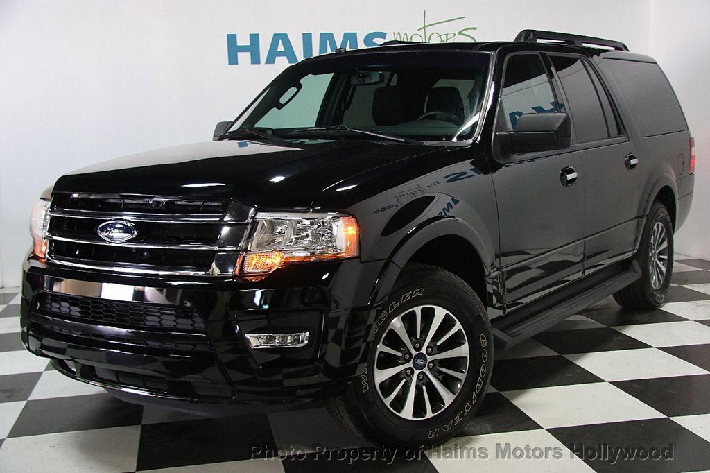 Ford Expedition El >> 2017 Used Ford Expedition El Xlt 4x2 At Haims Motors Serving Fort