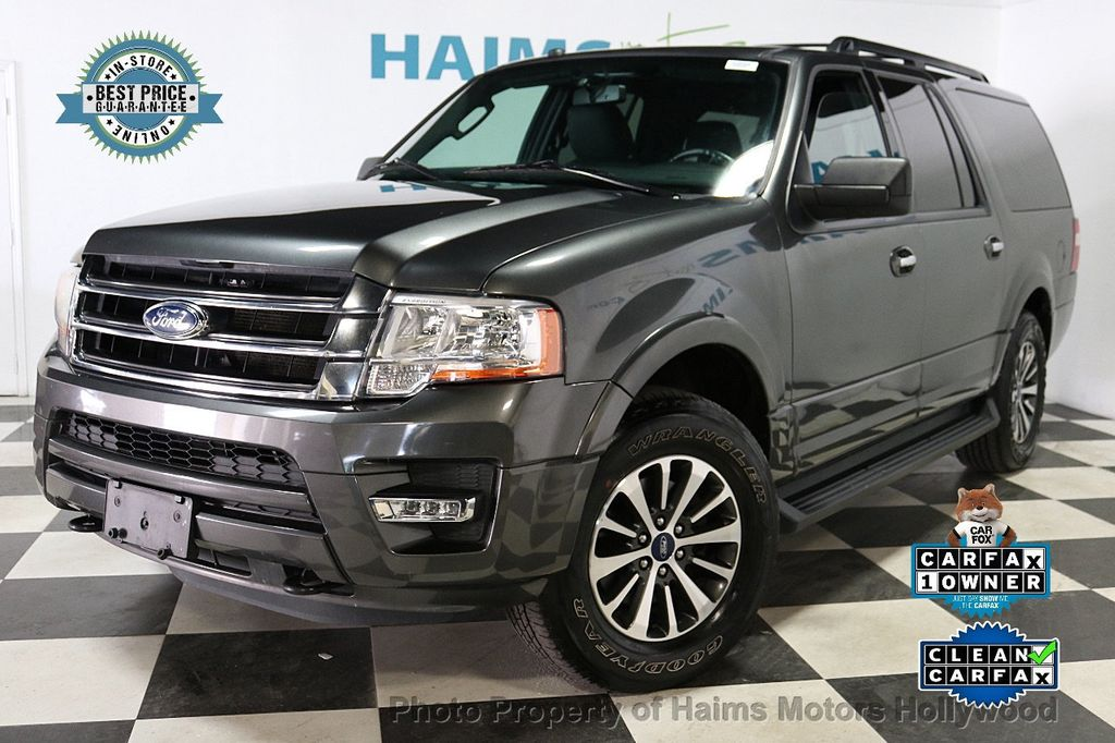 2017 Ford Expedition EL XLT 4x4 - 18062029 - 0