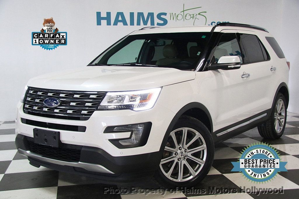 2017 Used Ford Explorer Limited 4wd At Haims Motors