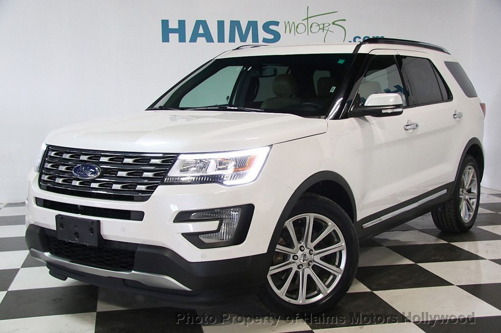 Used Ford Explorer >> 2017 Used Ford Explorer Limited 4wd At Haims Motors Serving Fort