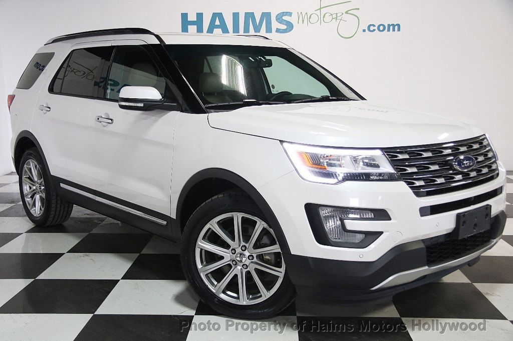 2017 Used Ford Explorer Limited 4wd At Haims Motors Serving Fort Lauderdale Hollywood Miami