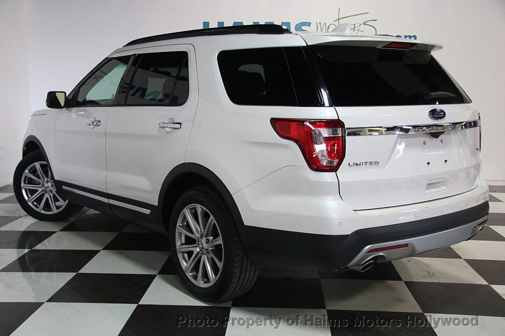 2017 used ford explorer limited 4wd at haims motors ft lauderdale serving lauderdale lakes fl. Black Bedroom Furniture Sets. Home Design Ideas