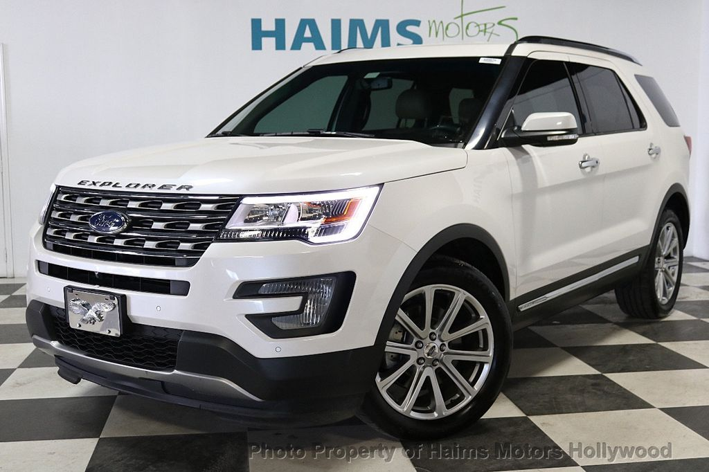 2017 Ford Explorer Limited FWD - 18156034 - 1