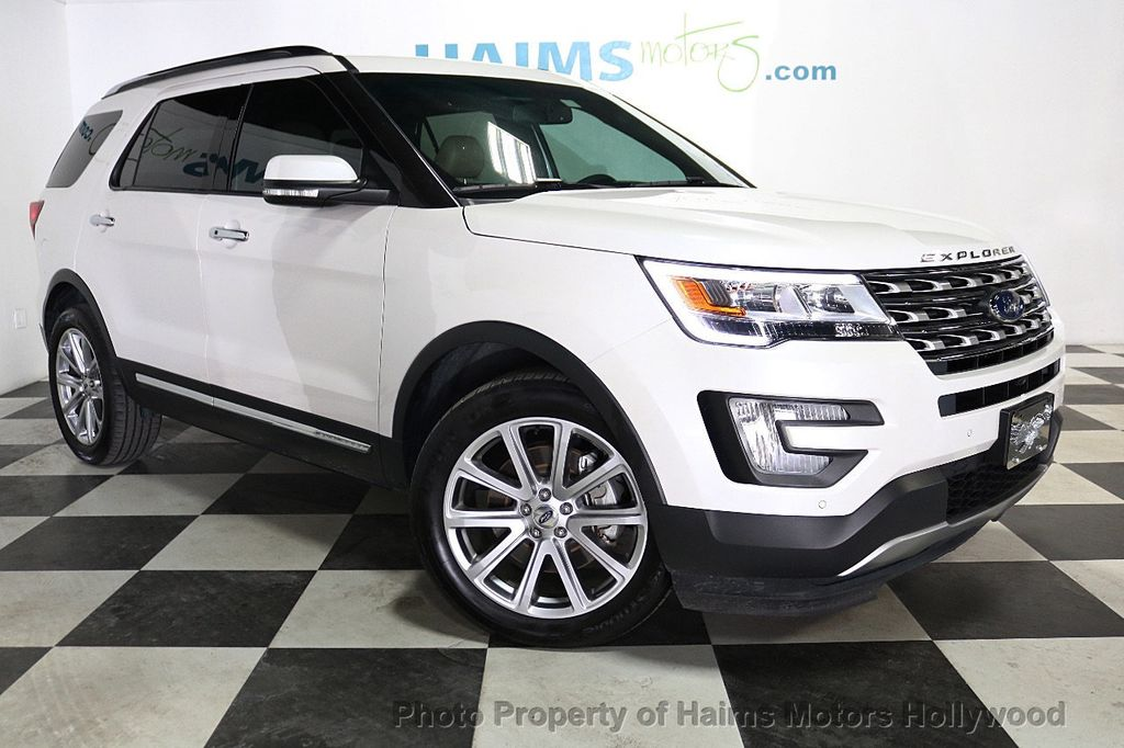2017 Used Ford Explorer Limited Fwd At Haims Motors Ft
