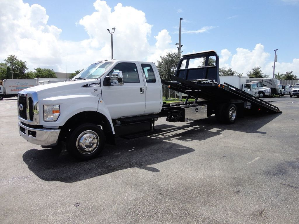 2017 Ford F650 21.5FT CHEVRON ROLLBACK TOW TRUCK..(LCG) - 17948879 - 0