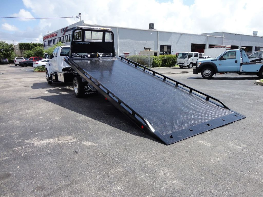 2017 Ford F650 21.5FT CHEVRON ROLLBACK TOW TRUCK..(LCG) - 17948879 - 9
