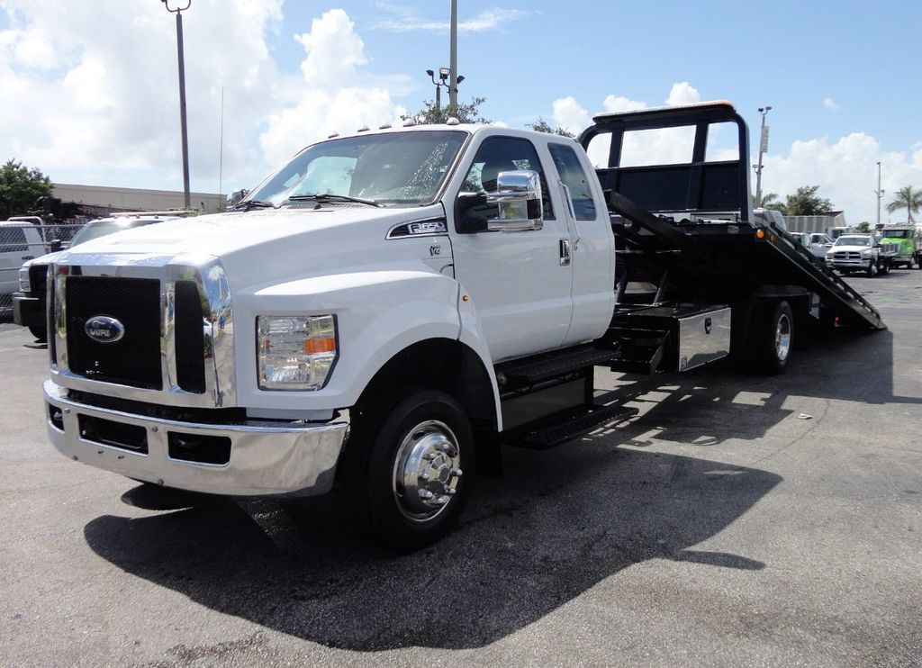2017 Ford F650 21.5FT CHEVRON ROLLBACK TOW TRUCK..(LCG) - 17948879 - 1
