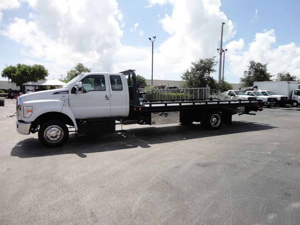 2017 Ford F650 21.5FT CHEVRON ROLLBACK TOW TRUCK..(LCG) - 17948879 - 42