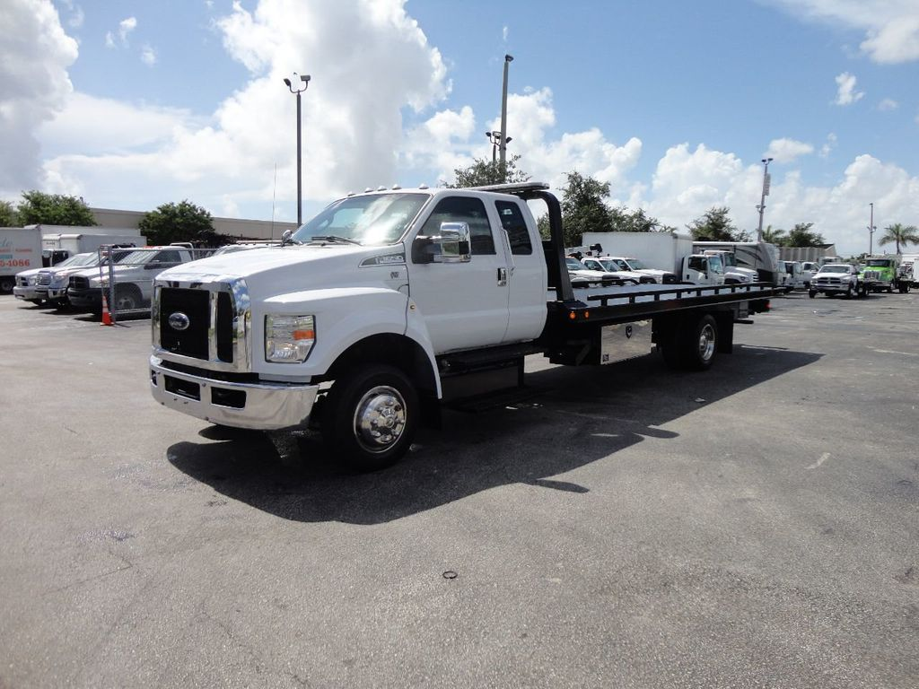 2017 Ford F650 21.5FT CHEVRON ROLLBACK TOW TRUCK..(LCG) - 17948879 - 43
