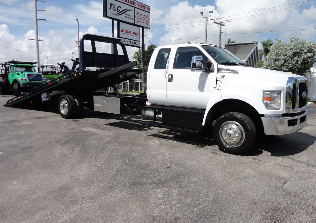 2017 Ford F650 21.5FT CHEVRON ROLLBACK TOW TRUCK..(LCG) - 17948879 - 4