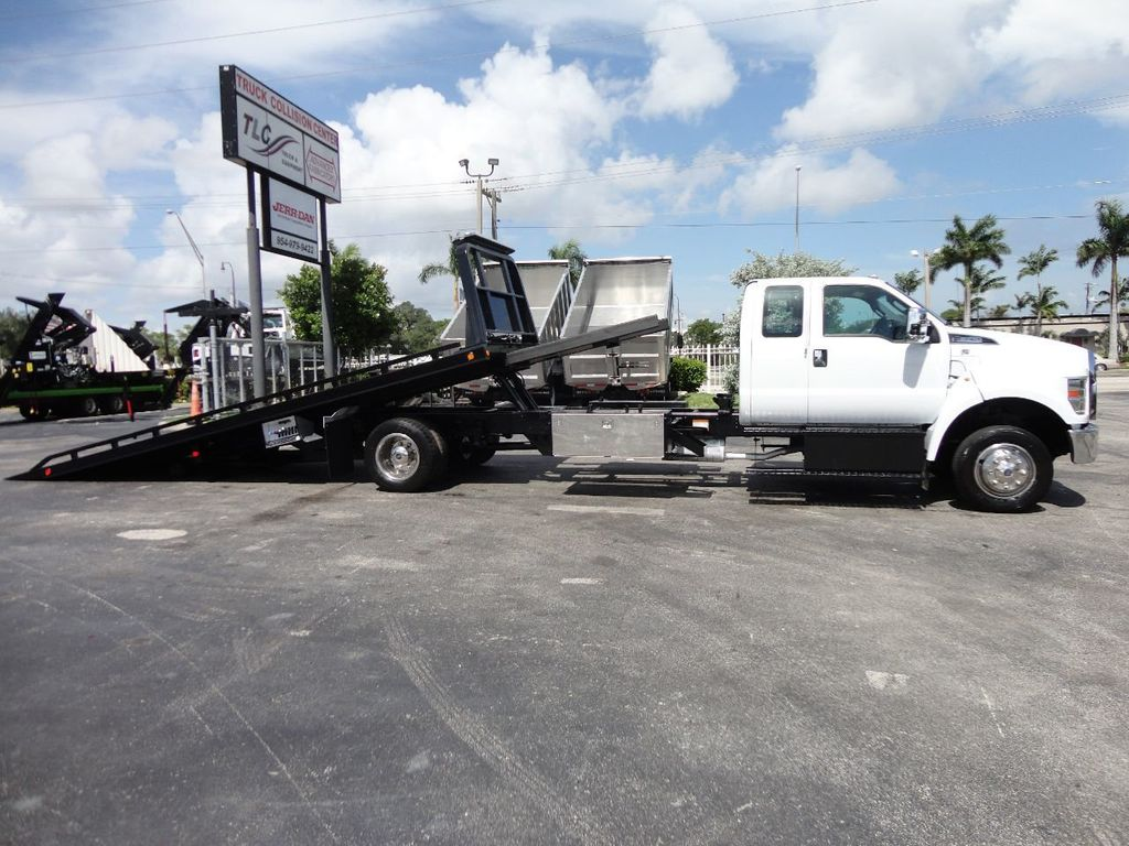 2017 Ford F650 21.5FT CHEVRON ROLLBACK TOW TRUCK..(LCG) - 17948879 - 5