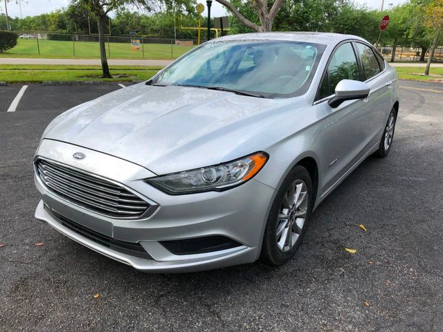 Used Ford Fusion Hybrid >> 2017 Used Ford Fusion Hybrid Se Fwd At A Luxury Autos Serving