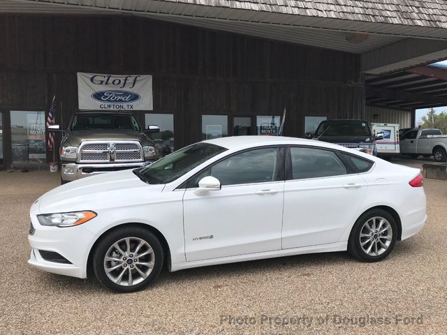 Used Ford Fusion Hybrid >> 2017 Used Ford Fusion Hybrid S Fwd At Gloff Ford Serving Clifton Tx