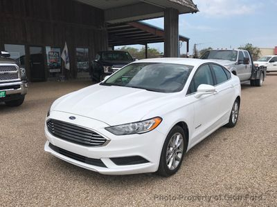 2017 Ford Fusion Hybrid S FWD - Click to see full-size photo viewer