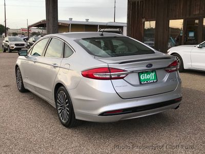 2017 Ford Fusion Hybrid Titanium FWD - Click to see full-size photo viewer