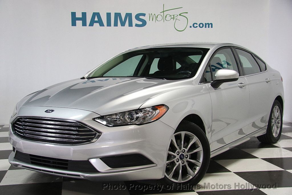 Ford Fort Lauderdale >> 2017 Used Ford Fusion SE FWD at Haims Motors Serving Fort Lauderdale, Hollywood, Miami, FL, IID ...