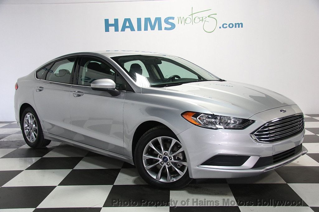 Ford Dealership Fort Lauderdale >> 2017 Used Ford Fusion SE FWD at Haims Motors Serving Fort Lauderdale, Hollywood, Miami, FL, IID ...