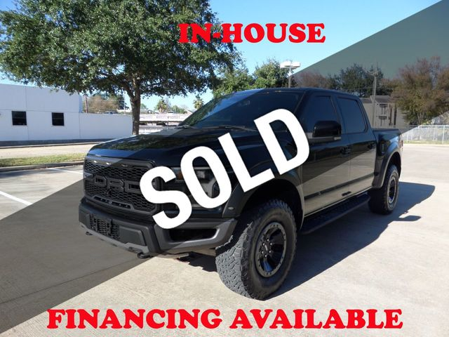 2017 Ford F-150 2017 FORD F-150 RAPTOR 4WD SUPERCREW, 1-OWNER, PANO ROOF, NAVI