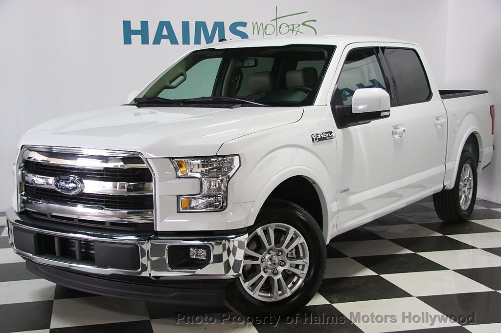 2017 used ford f 150 lariat 2wd supercrew 5 5 39 box at haims motors serving fort lauderdale. Black Bedroom Furniture Sets. Home Design Ideas