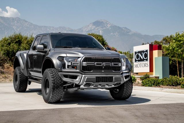Used Ford Raptor >> 2017 Used Ford F 150 Raptor 4wd Supercab 5 5 Box At Cnc Motors Inc Serving Upland Ca Iid 19045698