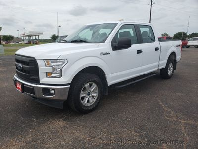 2017 Ford F-150 XL 4WD SuperCrew 5.5' Box Truck