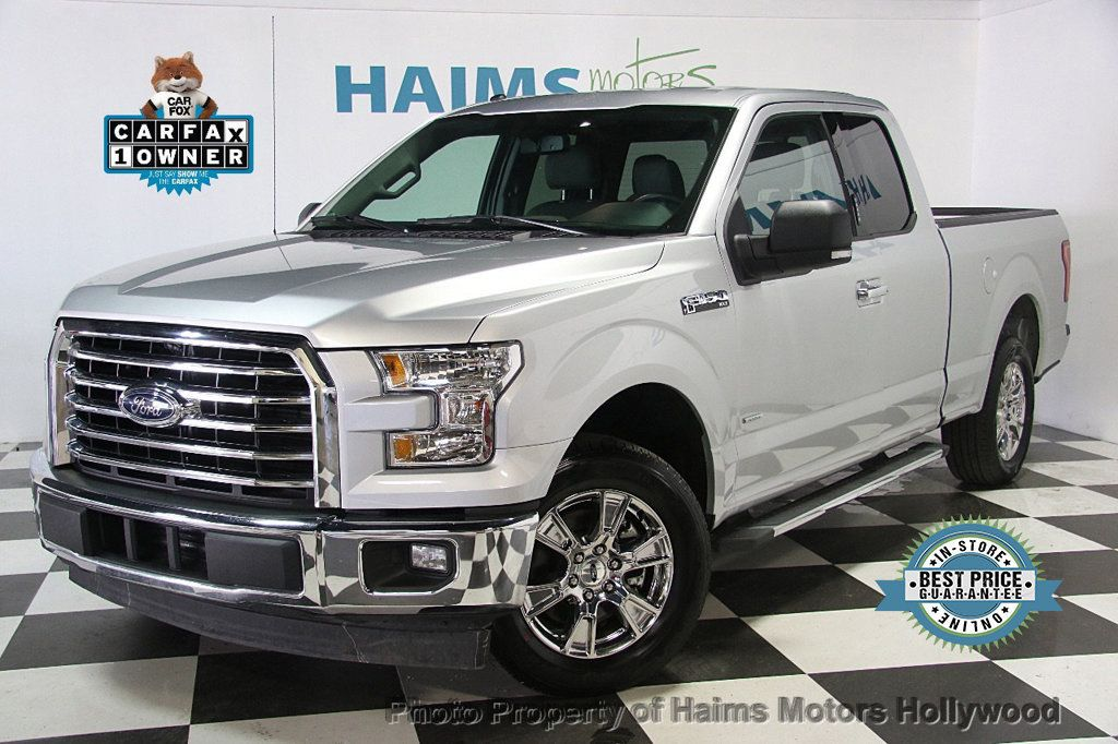 2017 used ford f 150 xlt 2wd supercab 6 5 39 box at haims motors ft lauderdale serving lauderdale. Black Bedroom Furniture Sets. Home Design Ideas