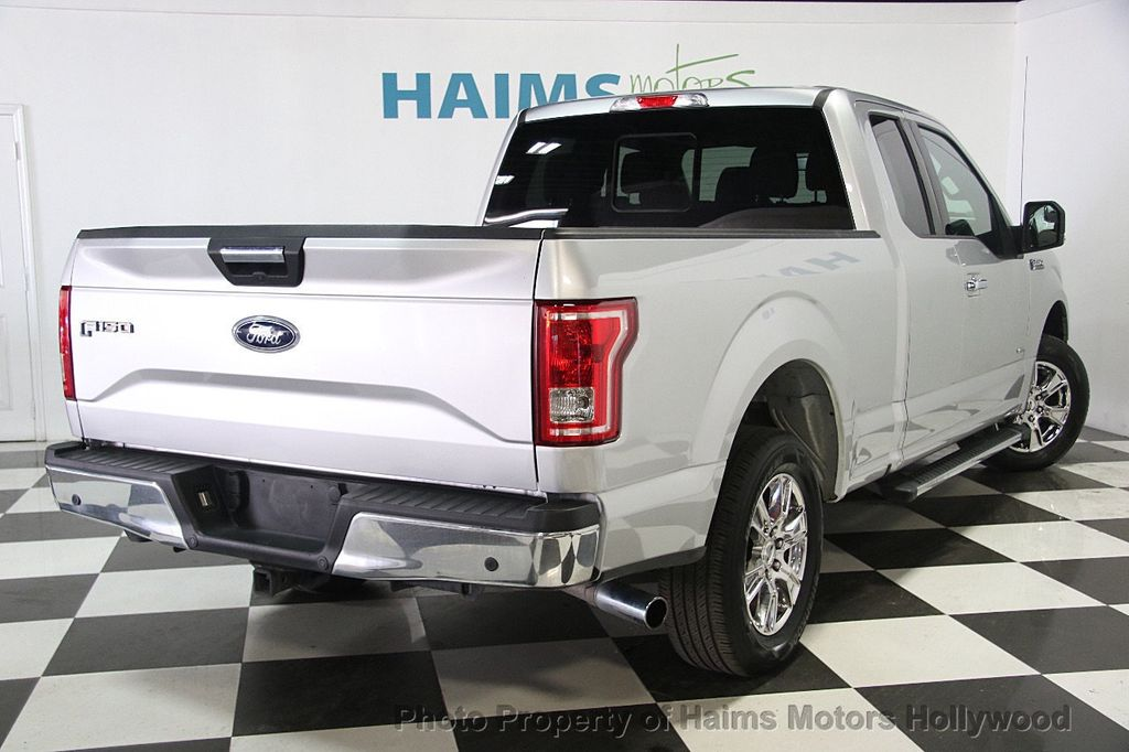 2017 ford f 150 xlt 2wd supercab 6 5 39 box truck extended cab standard bed for sale in hollywood. Black Bedroom Furniture Sets. Home Design Ideas