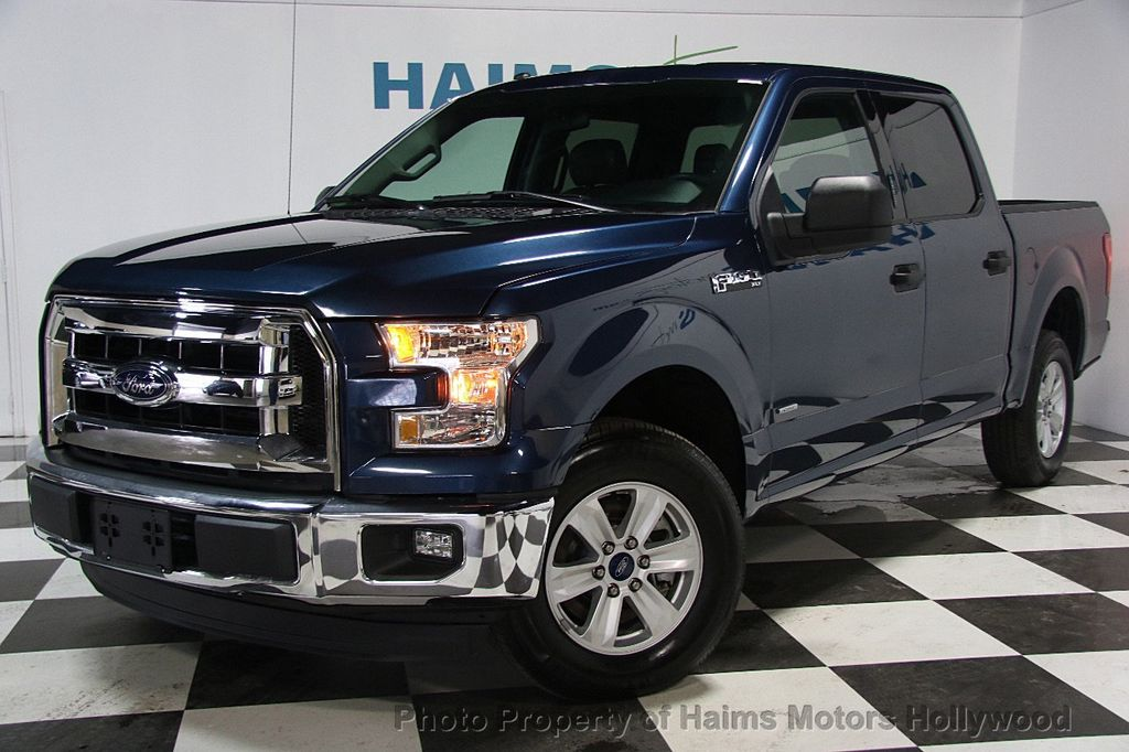 2017 used ford f 150 xlt 2wd supercrew 5 5 39 box at haims motors serving fort lauderdale. Black Bedroom Furniture Sets. Home Design Ideas