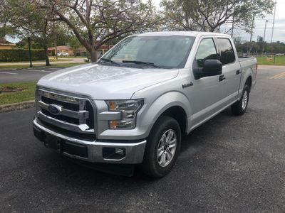 2017 Ford F-150 XLT 2WD SuperCrew 5.5' Box Truck