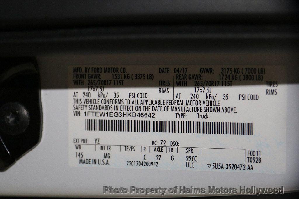 2017 Ford F-150 XLT 4WD SuperCrew 5.5' Box - 17235640 - 31