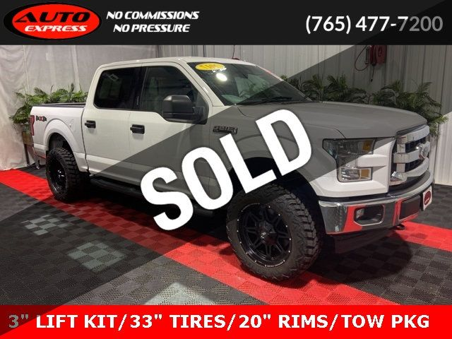 2017 Ford F150 Lifted >> 2017 Used Ford F 150 Xlt Crew Cab 4x4 20 Fuel Pump Rims 3