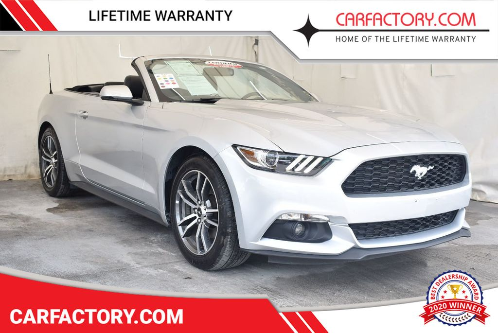 2017 Ford Mustang EcoBoost Premium Convertible - 17524843 - 0