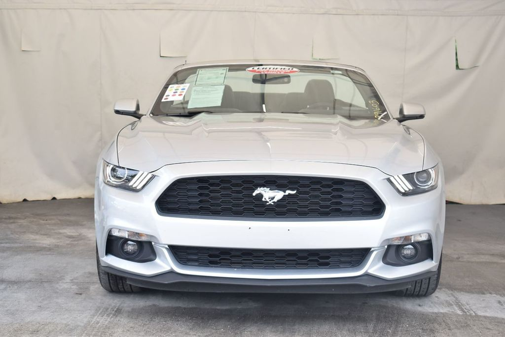2017 Ford Mustang EcoBoost Premium Convertible - 17524843 - 3