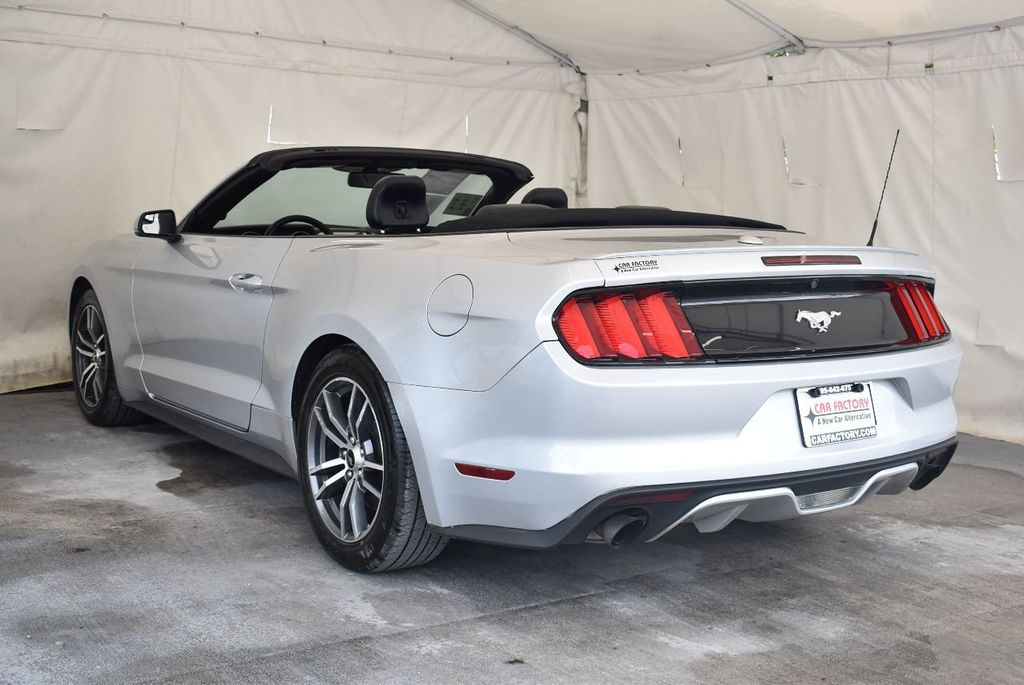 2017 Ford Mustang EcoBoost Premium Convertible - 17524843 - 5