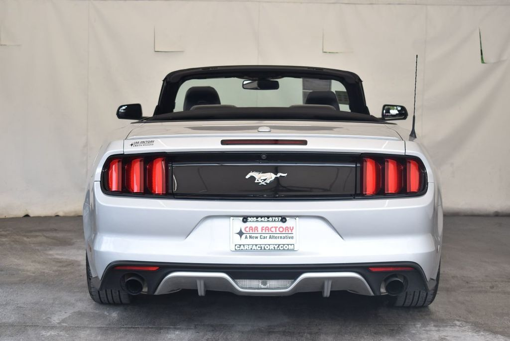 2017 Ford Mustang EcoBoost Premium Convertible - 17524843 - 7