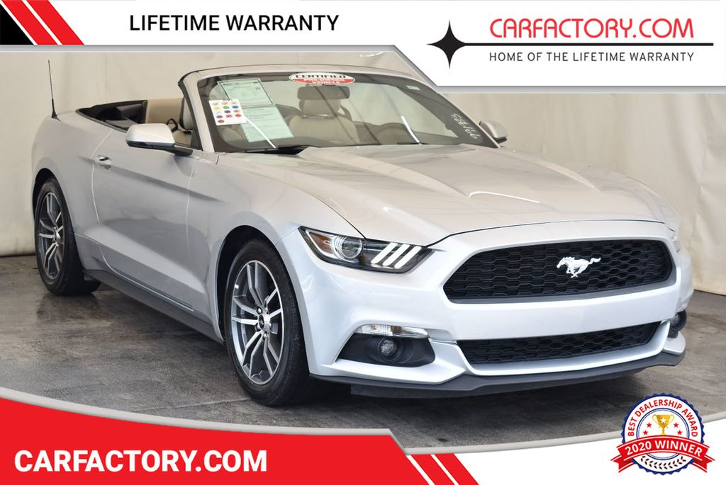 2017 Ford Mustang EcoBoost Premium Convertible - 17875111 - 0