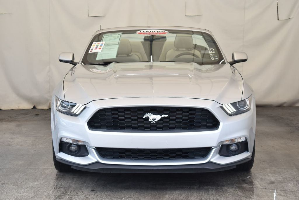 2017 Ford Mustang EcoBoost Premium Convertible - 17875111 - 3