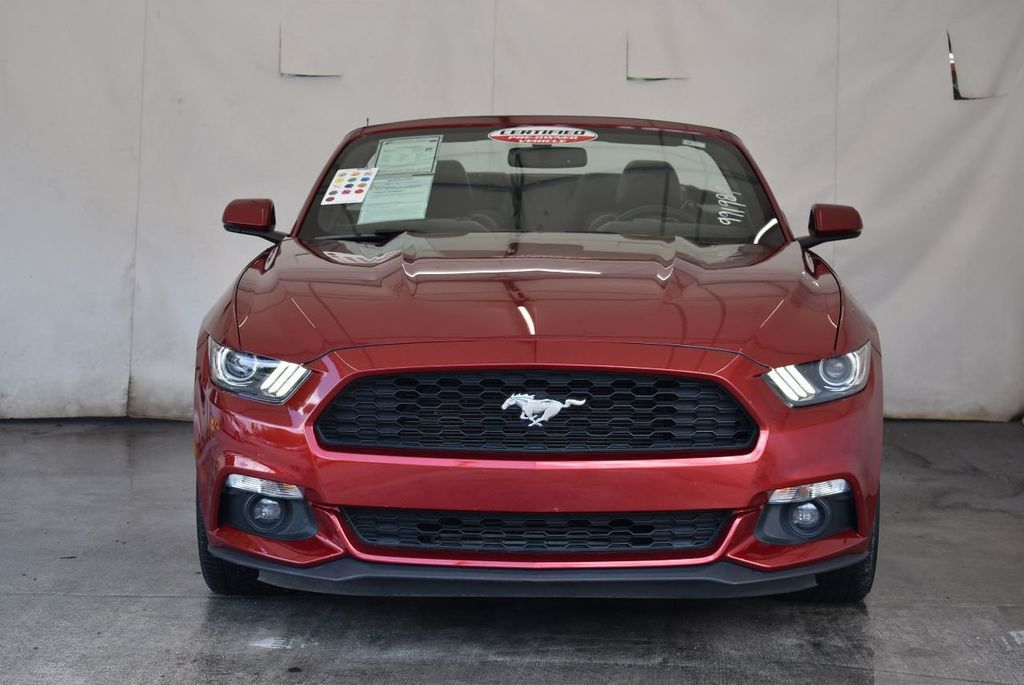 2017 Ford Mustang EcoBoost Premium Convertible - 17875112 - 3