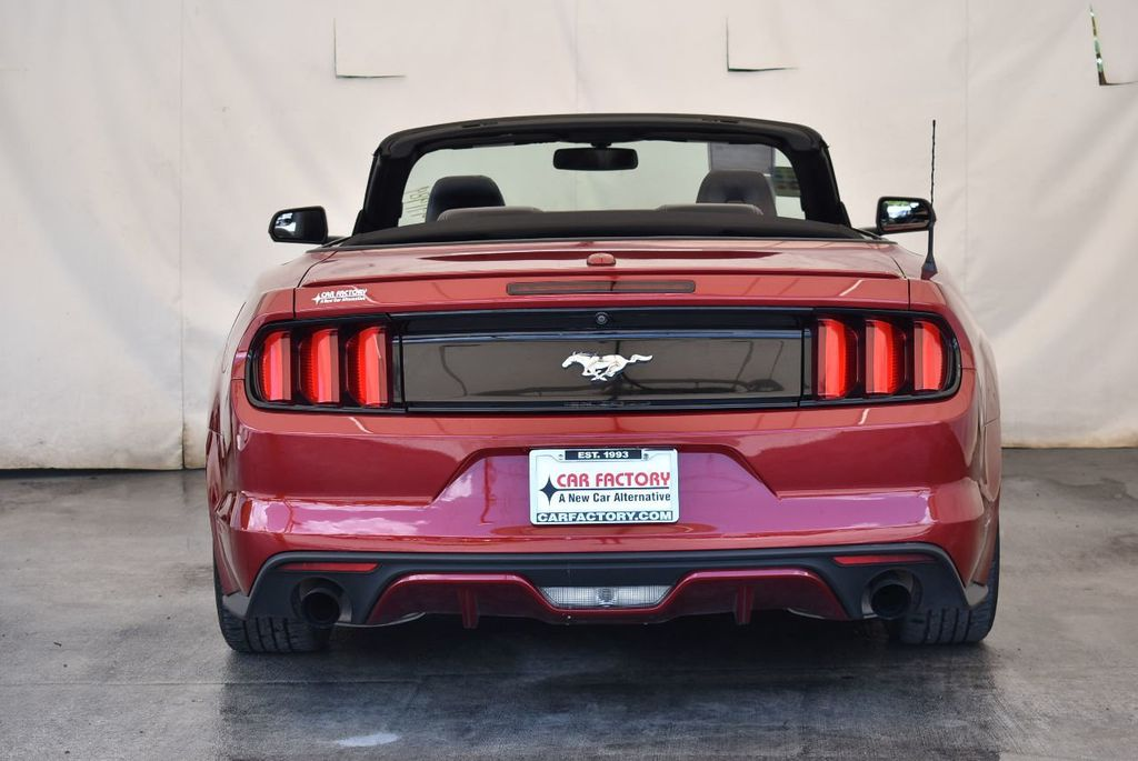 2017 Ford Mustang EcoBoost Premium Convertible - 17875112 - 7