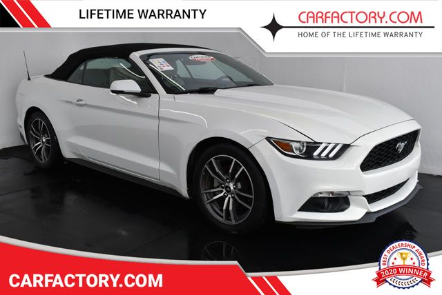 2017 Ford Mustang Ecoboost Premium >> 2017 Used Ford Mustang Ecoboost Premium Convertible At Car Factory Outlet Serving Miami Dade Broward Palm Beach Collier And Monroe County Fl Iid