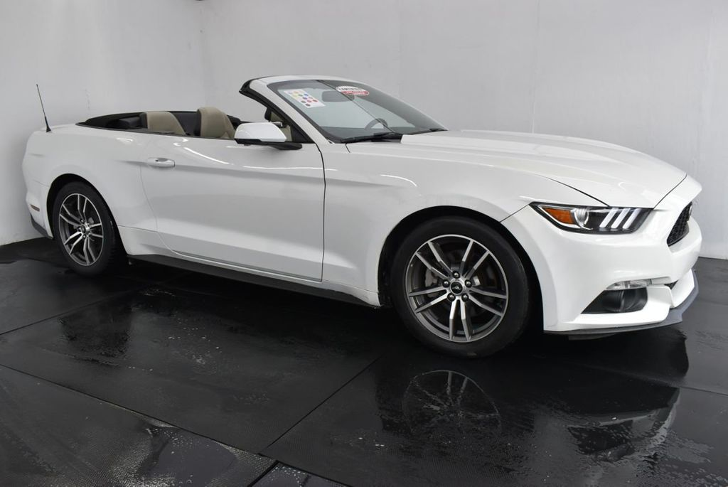2017 Ford Mustang EcoBoost Premium Convertible - 18250874 - 1