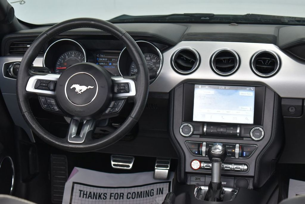 2017 Ford Mustang EcoBoost Premium Convertible - 18250874 - 21